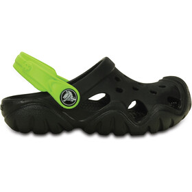 Crocs Swiftwater Crocs Enfant, black/volt green